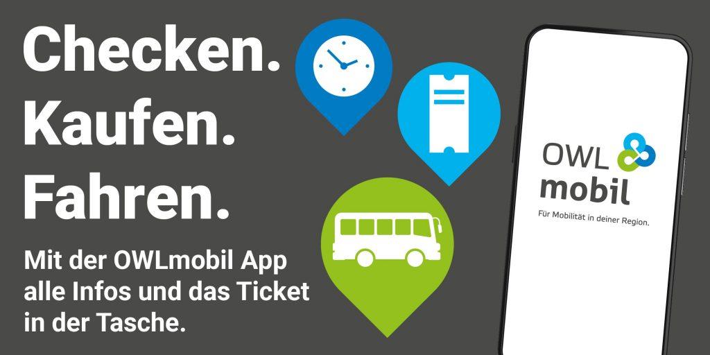 OWLmobil App - Checken. Kaufen. Fahren